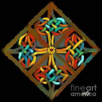 Celtic Cross 2 by Carrie Joy Byrnes