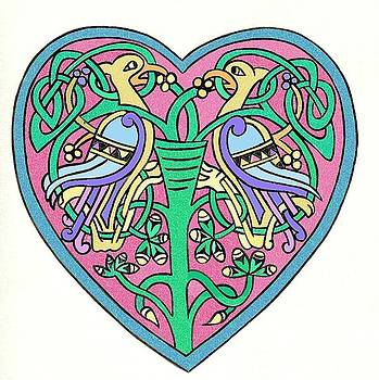 Celtic Heart by Frances Gillotti