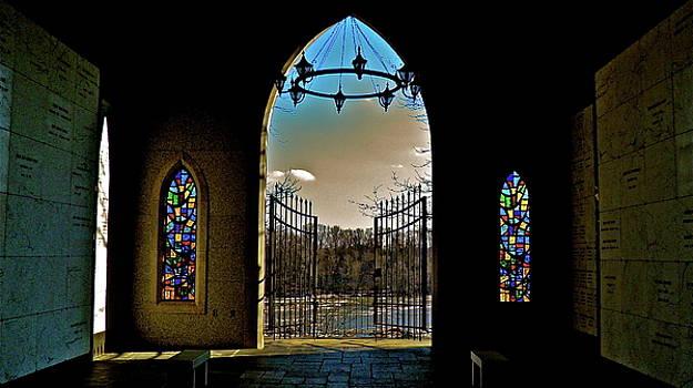 Cemetery Chapel 2 by E Robert Dee