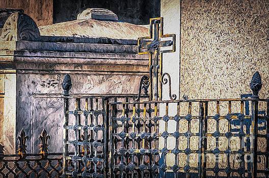 Kathleen K Parker - Cemetery Iron Work NOLA- painted
