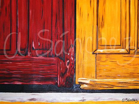 Cerrando puertas by Adriana Sanchez