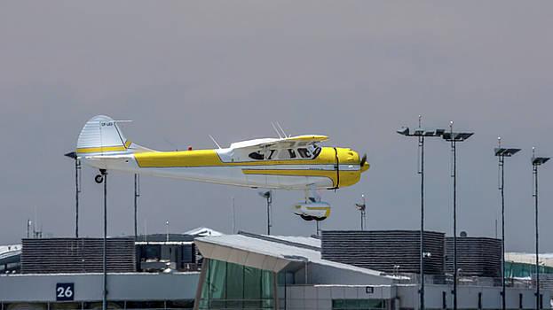 Cessna 195B Businessliner by Guy Whiteley