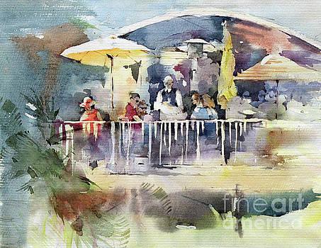 C'est La Vie Restaurant - Laguna Beach - California by Natalia Eremeyeva Duarte