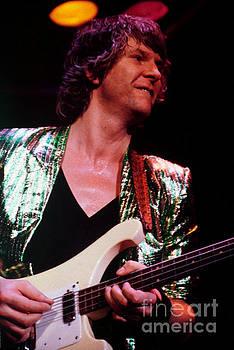 Chris Squire of Yes - 1980 Drama Tour by Daniel Larsen