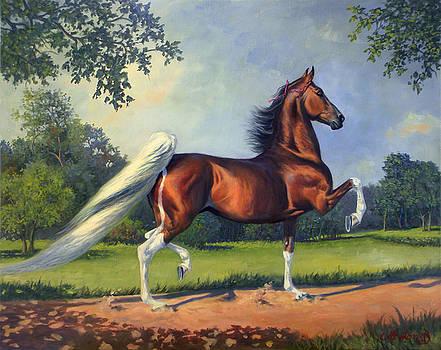 CH. Racing Stripe by Jeanne Newton Schoborg