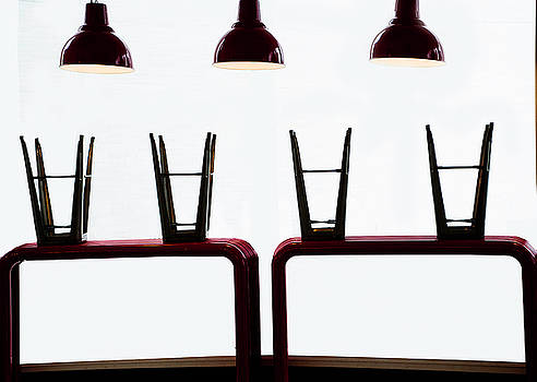 Chairs and Lamps by Detlef Klahm