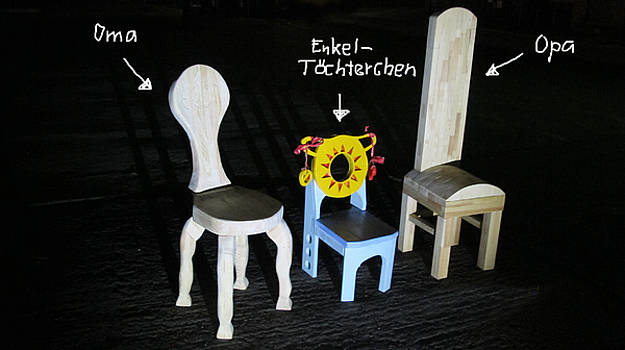 Chairs Generation by Reiner Poser