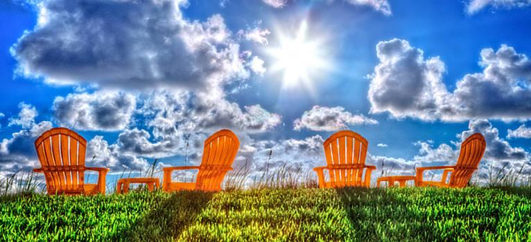 Debra and Dave Vanderlaan - Chairs on the Dunes