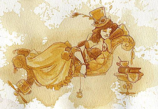 Chaise by Brian Kesinger