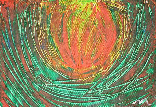 Chakra Protea by Malik Jaffer