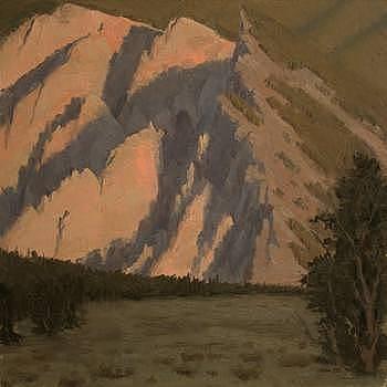Chalk Cliff Sunrise by Joshua Been