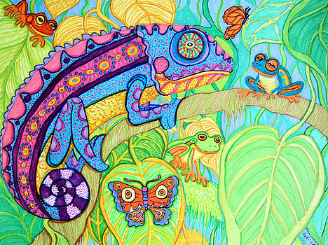 Nick Gustafson - Chamelion and Rainforest Frogs