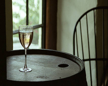 Champagne Glass by Barry Shaffer
