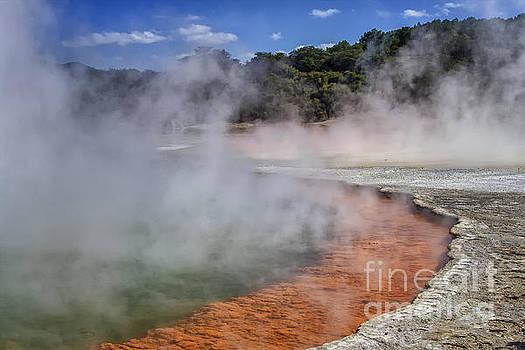 Patricia Hofmeester - Champagne Pool in Rotorua, New Zealand