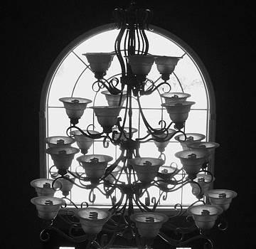 Chandelier by Anna Villarreal Garbis