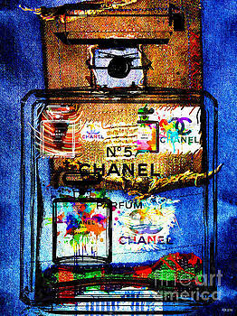 Chanel No. 5 Patches by Daniel Janda