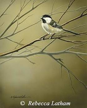 Changing Seasons - Chickadee by Rebecca Latham
