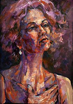 Chanteuse by Joan  Jones
