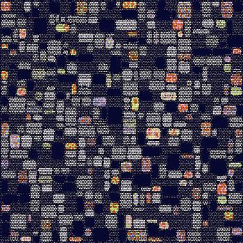 Chaotic Dots Hi-Rise by Joy McKenzie