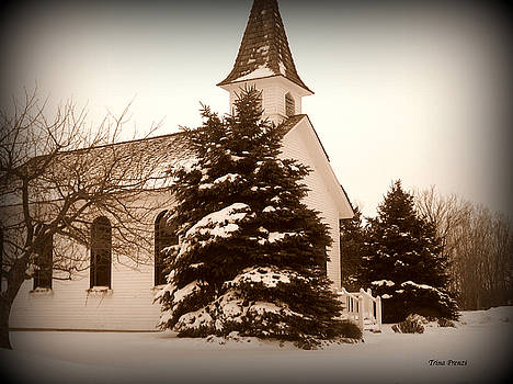 Chapel in the Snow by Trina Prenzi