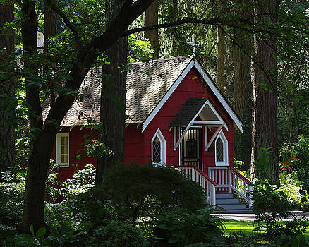 Chapel In The Woods by Marilyn Peterson