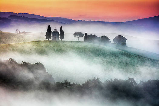 Chapel of Our Lady of Vitaleta by Evgeni Dinev