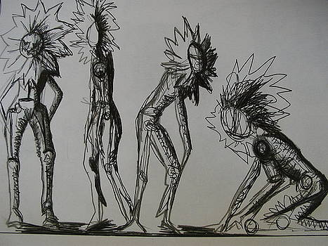 Character Doodle by Paula  Heffel
