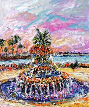 Ginette Callaway - Charleston Pineapple Fountain SC