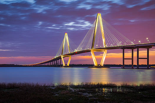 Charleston SC Arthur Ravenel Jr Bridge by Dave Allen