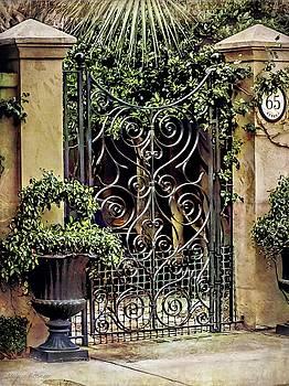 Charleston South Carolina Wrought Iron Gates by Melissa Bittinger