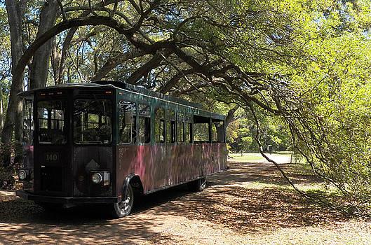 Charleston Tea Plantation Trolley by Melanie Snipes
