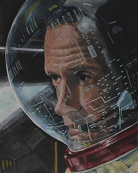Charlie Duke- Apollo 16 by Simon Kregar