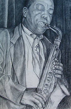 Charlie Parker by Joe Roache