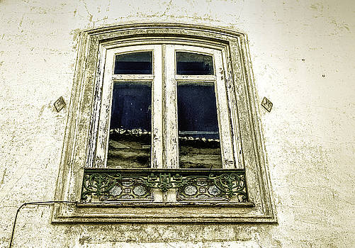 Charming Old Window in Europe by Marion McCristall
