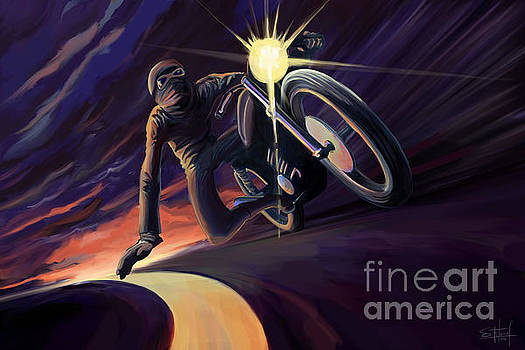 Chasing the Line Speed Racer by Sassan Filsoof