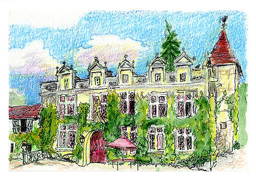 Chateau de Maumont by Tilly Strauss