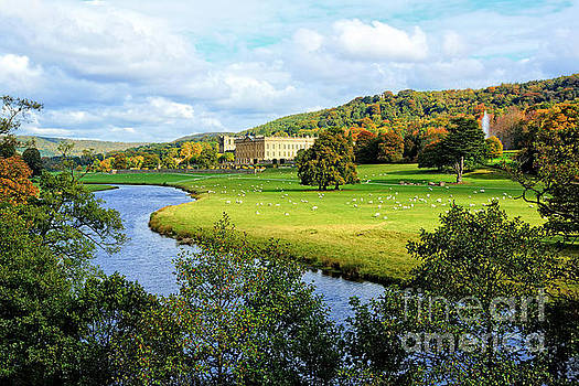 Chatsworth House View by David Birchall