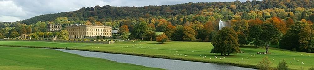 Chatsworth Panorama by David Birchall