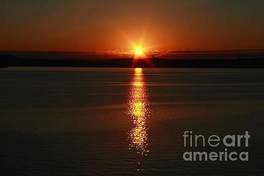 Chattanooga Sunrise # 1 by Geraldine DeBoer