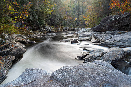 Chattooga River at 7' Falls by Derek Thornton