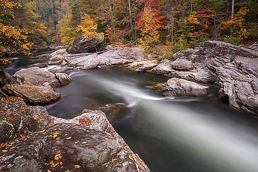 Chattooga River at Hurricane Rapid by Derek Thornton