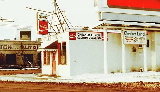 Checker Lunch by Brian Sereda