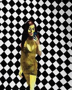 CheckerBoard Selfie by Harry WEISBURD