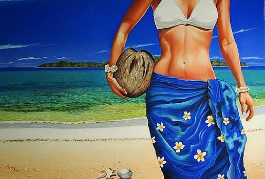 Cherishing Sun by Pravin  Sen