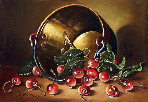 Cherries by Dusan Vukovic