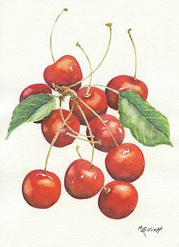 Cherries by Marsha Elliott