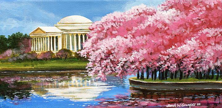 Cherry Blossom Festival by Sarah Grangier