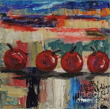 Cherry Parade - SOLD by Judith Espinoza
