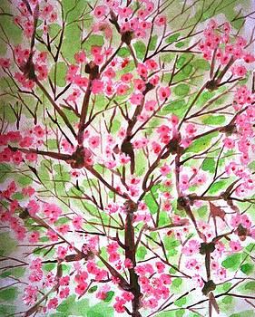Cherryflowers by Baljit Chadha