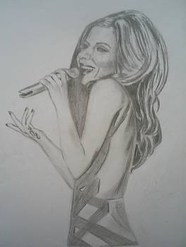 Cheryl Cole by James Dolan